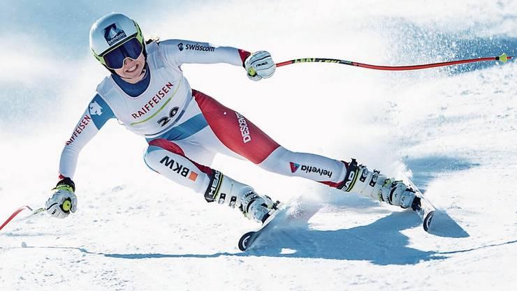 Alexandra Walz will sich nach ihren guten Leistungen in Davos häufiger für den Europacup empfehlen.