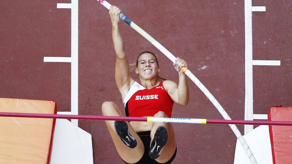 Angelica Moser stiess an den U20-Weltmeisterschaften in Polen in neue Höhen vor und gewann die Goldmedaille