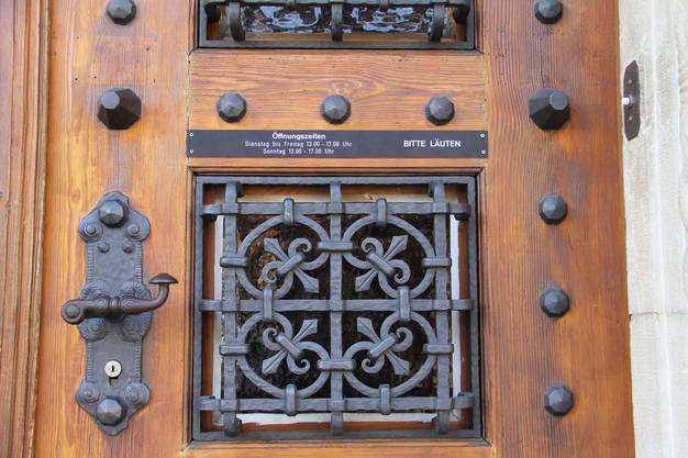 Bitte läuten – ungewöhnlicher Zutritt zum Museum