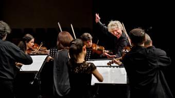 Giovanni Antonini und sein Ensemble Il Giardino Armonico während der Berliner Haydn-Nacht – zu erleben nun auch am kommenden Sonntag in der Basler Haydn-Nacht.