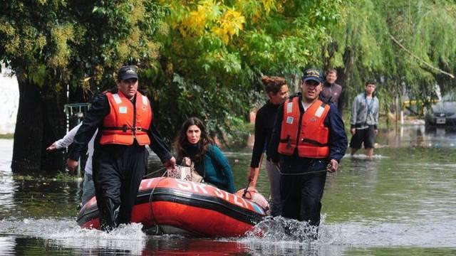 Überschwemmtes La Plata in Argentinien: Das Land beklagt über 50 Tote